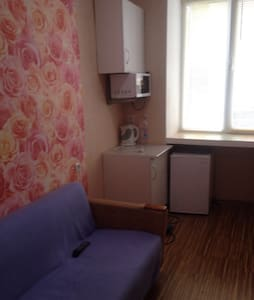 Уютная комната комфортная для проживания - 乌法 - 宿舍