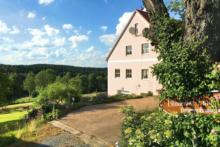 Apartment with all amenities, garden and sauna, located in a very tranquil area