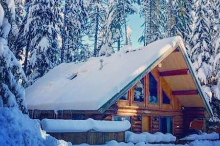 The Billabong Lodge - Log Home - Hope - Cabane