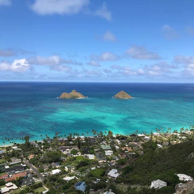 View from the pillbox hike which I personally walk to from the condo