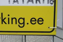 Parking 3.  www.barking.ee  -  Tatari 16 - 5 euro. Payment in cash from 9.00 am to 15.00