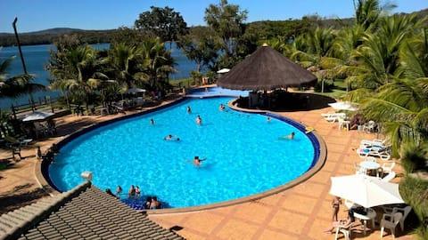 Pontal do Lago Flat, Lago Corumbá, Caldas Novas