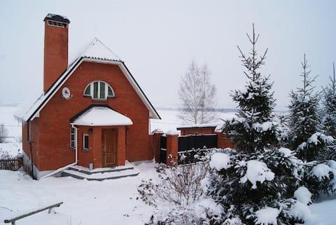Коттедж у горнолыжного комплекса «Свияжские холмы»