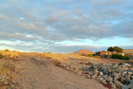 La Cabaña, tranquilidad absoluto en Lajares - La Oliva - Hus