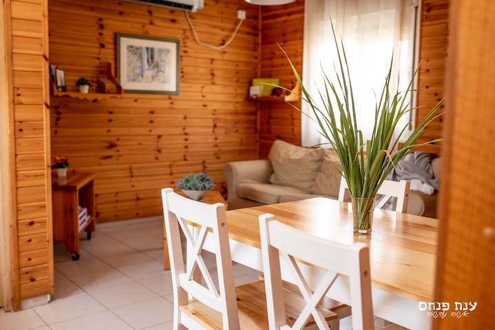 Laid-back chalet 1 in Golan Heights, Galilee Sea