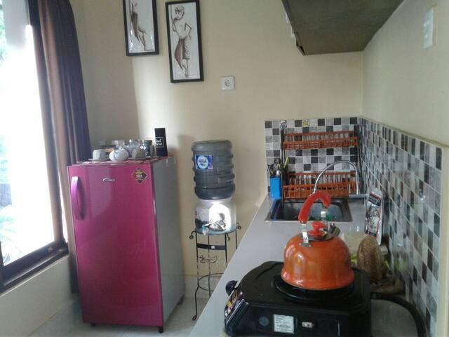 Corner room with kitchen near Sanur beach