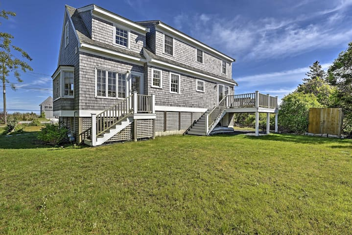Chatham Home w/ Views - Across from Private Beach!