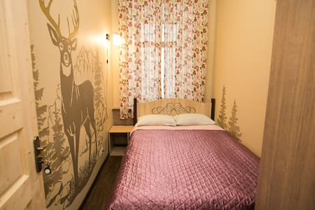 Lovely and central room. Visa support. - Moskva - 住宿加早餐
