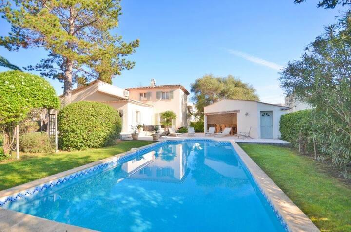 Villa 3 chambres proche plage Juan Les Pins