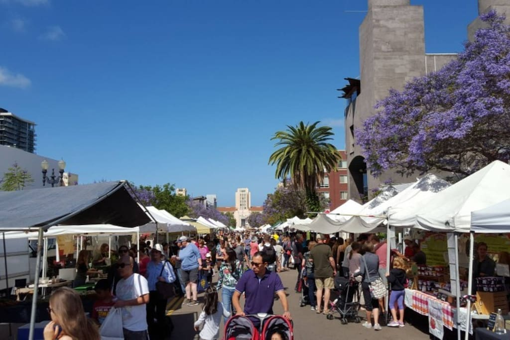 Farmers Market every Saturday. Best way to start your weekend