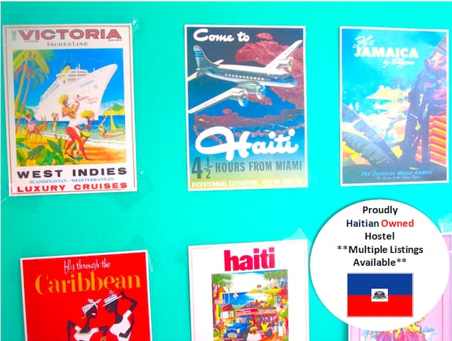 Bèl Backpackers*Haitian Owned Hostel (Bed 2 of 4) - Jacmel - Hostal