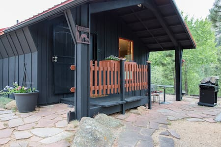 Bunkhouse @ Old Man Mountain studio - walk to town - Estes Park - 통나무집