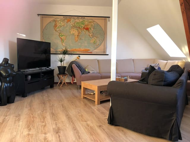Cozy, big apartment in Nijmegen city centre