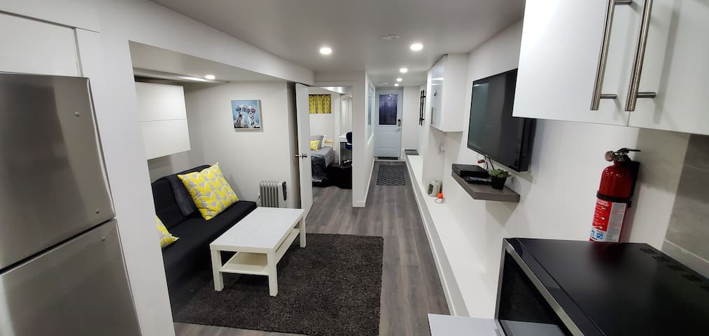 Bright, Clean, Newly Renovated  Basement Apartment