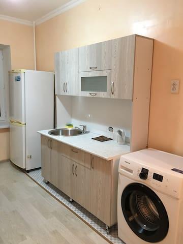 Pleasant apartment (2Bd1B) at the center of Taraz