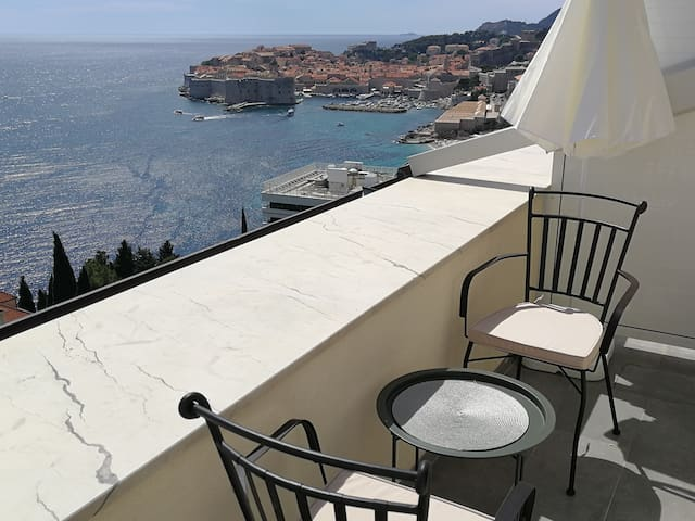 Studio Horizon of Dubrovnik with private balcony