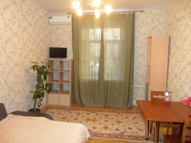 Комната рядом с м. Полежаевская. - Moskva - Flat