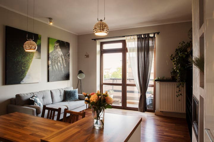 Luxury apartment 75m² with a view on Jasna Gora