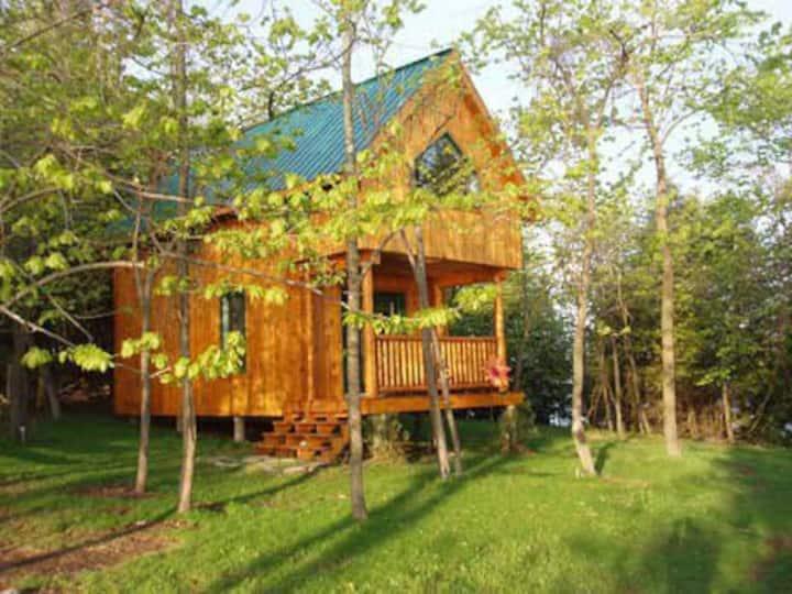 Stunning lakeside cabin: ECO CABIN 2 Sunrise