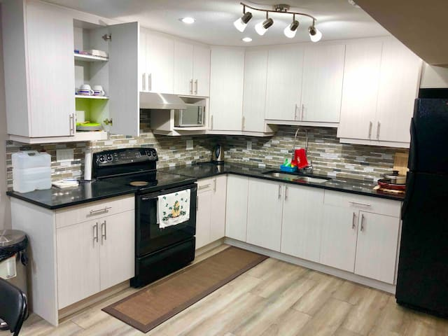Private, Brand New Basement Suite close to Airport