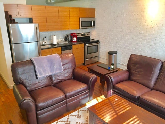 Downtown living without the noise. - Roanoke - Apartamento