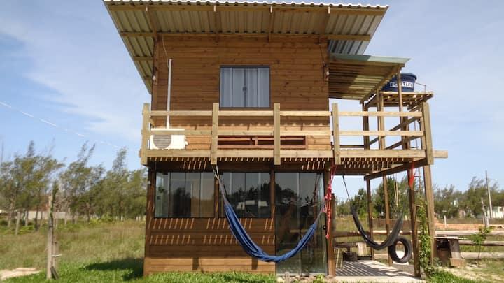 Mini casa Rústica - Espaço inteiro  (com quintal)