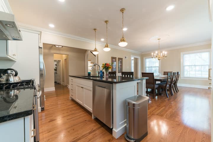 A newly renovated historic  manor in heart of city