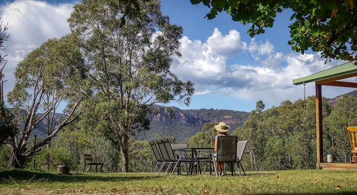 Zoellas Megalong Valley. Secluded haven.