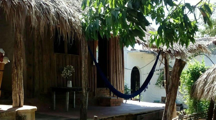 Cabaña jardín spa en Puerto Escondido
