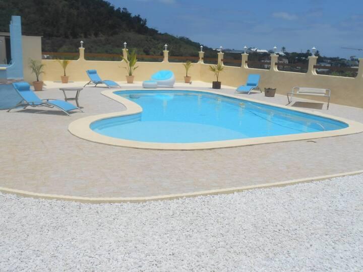 Superbe Villa vue mer et piscine