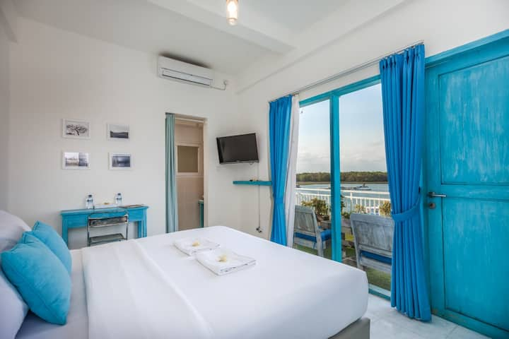 Paras paros Balcony marina view room Room Only
