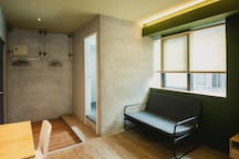 《YU-CHANG》Room 1 / Double  room+1 pull-out sofa