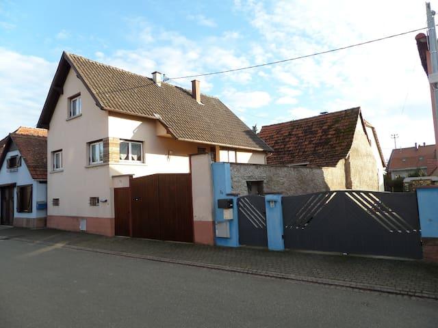 Location de vacances d'une maison - Marlenheim - Huis