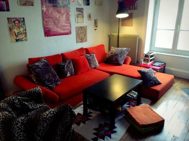 Appartement cosy 2 pers à 10 min du centre-ville - Lyon - Flat