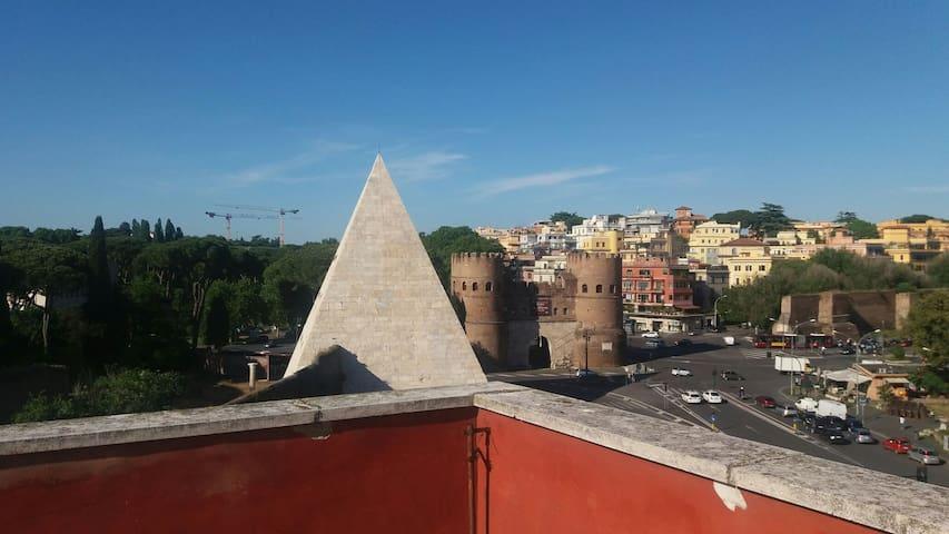 Torretta Piramide - Roma - Casa