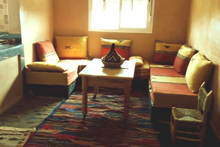 A cozy Berber flat with free Wifi
