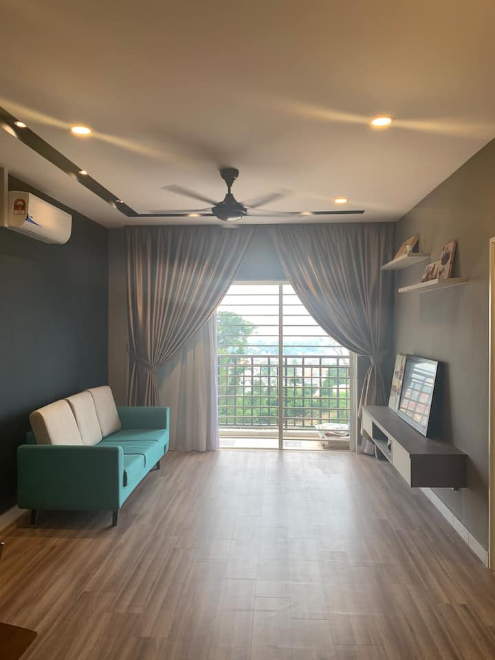 Entire 3 bedroom Apartment nearby Bukit Jalil