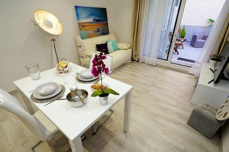 Appart avec patio entre Mer et Réserve de Sigean - Sigean - Apartamento
