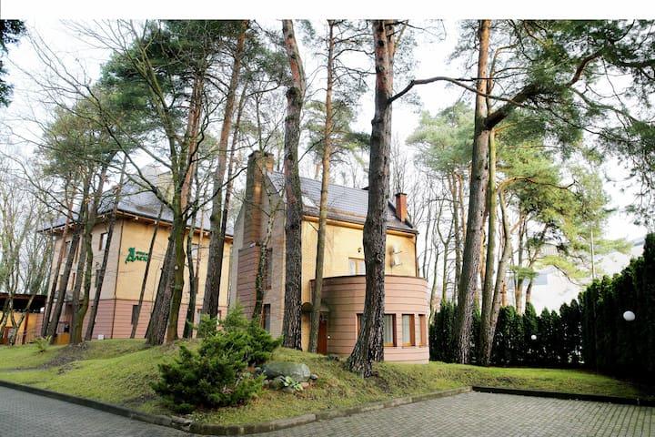 Дом с прекрасным видом и территорией г.Светлогорск