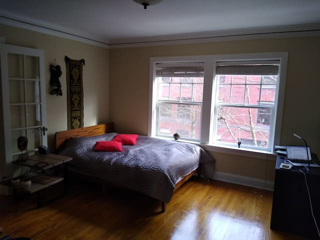 Big Tastefully Furnished Well-Lit Downtown Studio