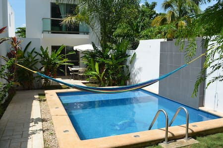 House with private pool: Casa Mango - Valladolid