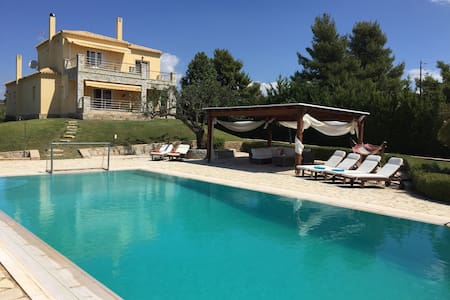 Pool Villa in 4 acres-Hellenic House in Porto Heli - Porto Cheli