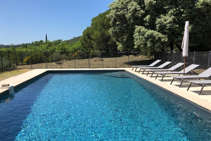 #Files House, charming villa + detached house, swimming pool Lourmarin
