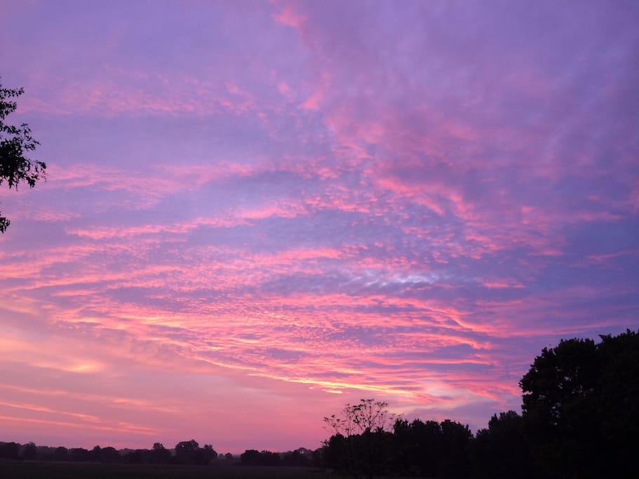 Beautiful Sunset - No Filters.