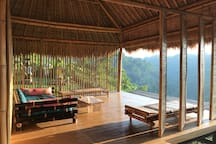 The Panorama Room. Our interpretation of Balinese Bale Bengong, a room to gaze a distance and do nothing.