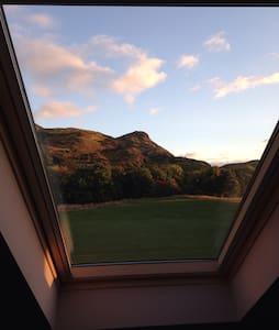 Central 1-2bedroom, Fantastic View, new loft space - Edimburgo - Loft