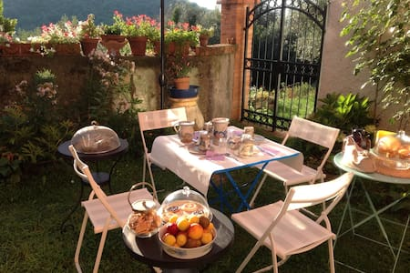 Cozy b&b 5 min. away from the sea - Celle Ligure - Pousada