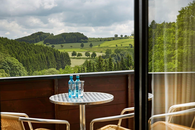 Ausblick von Balkon/ Terrasse