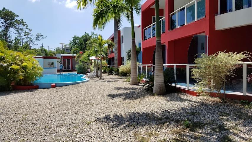 Agua del Caribe Villa, Sosua. Sosua Beach