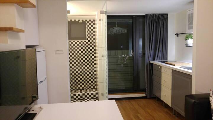 Kaohsiung Living O3 Loft Suite#ktchen double room